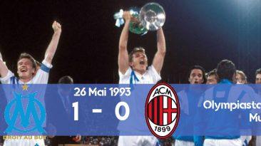 UCL 1993 Finala Marseille AC Milan